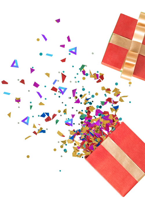Confetti-Right