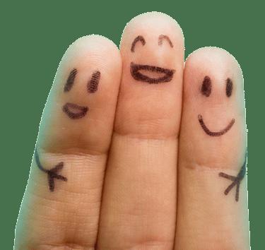 Smiling Fingers